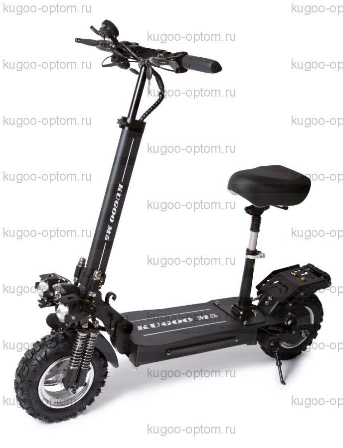 Электросамокат Kugoo M5 48V 1000W Jilong черный