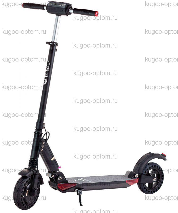 Электросамокат Kugoo S3 PRO Jilong Чёрный