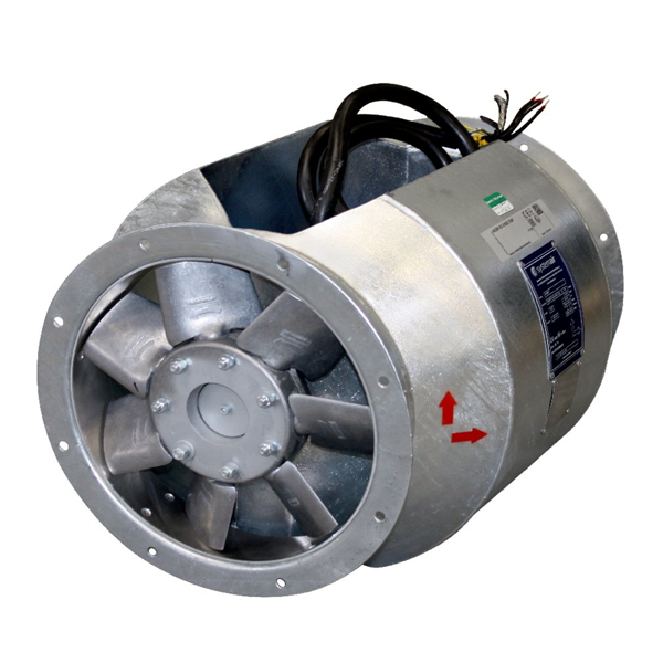 Взрывозащищенный вентилятор AXCBF-EX 250-6/28°-2