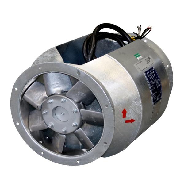 Взрывозащищенный вентилятор AXCBF-EX 400-7/22°-2