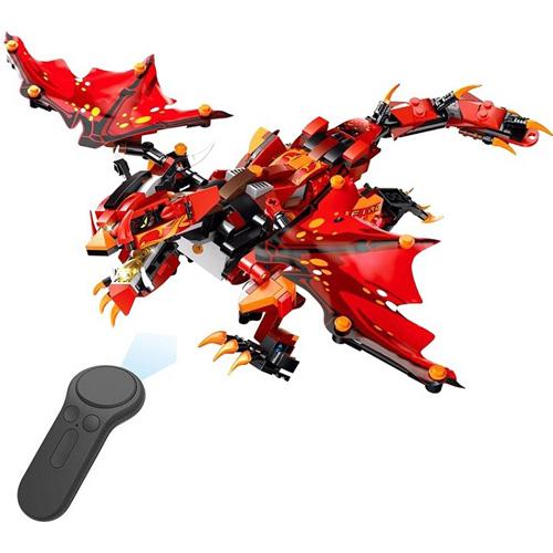 Конструктор  Огненный дракон на радиоуправлении Mould King 13019, 485 деталей