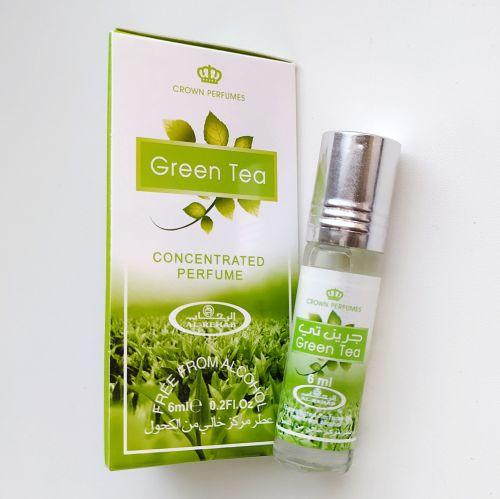 Арабские масляные духи Green tea | Зеленый чай | 6 мл | Al-Rehab | Унисекс