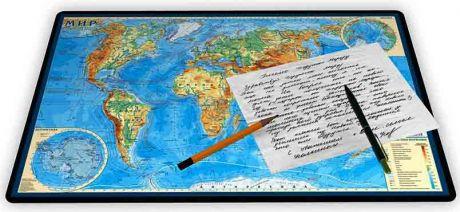 Коврик для письма «Мир физический»