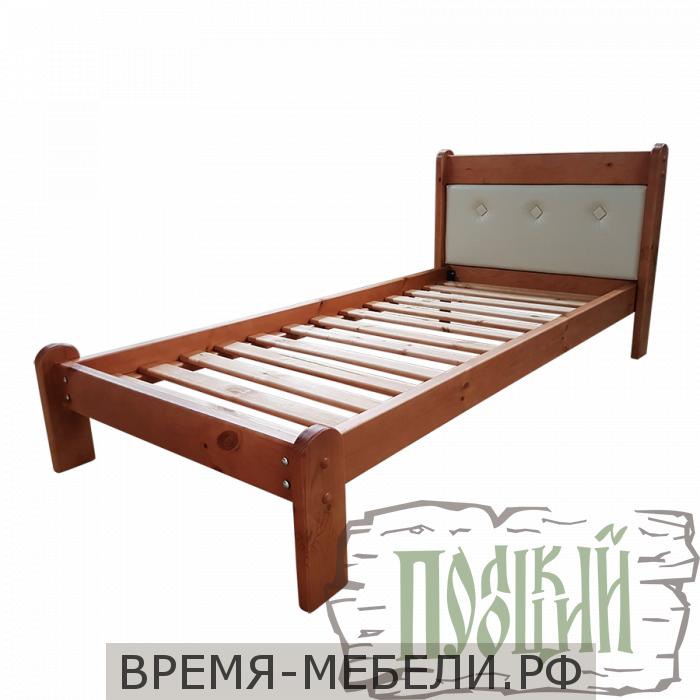 """Кровать """"Классика 2"""" с мягкой спинкой"""