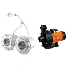 Противоток для бассейна AquaViva AV-JET-5.5DT Kit (380В, 68м?/час, 5.5HP)