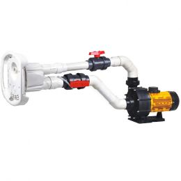 Противоток для бассейна AquaViva AV-JET-4ST KIT (380В, 56м?/час, 4HP)