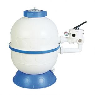 Бочка фильтра (600мм бок.подсоед.) Kripsol GRANADA GL606-604 (c вентилем) - все для сада, дома и огорода!