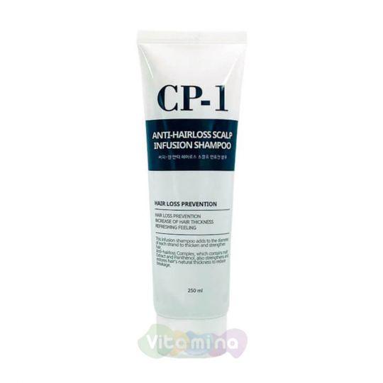 Esthetic House Шампунь против выпадения волос CP-1 Anti-Hair Loss Scalp Infusion Shampoo, 250 мл