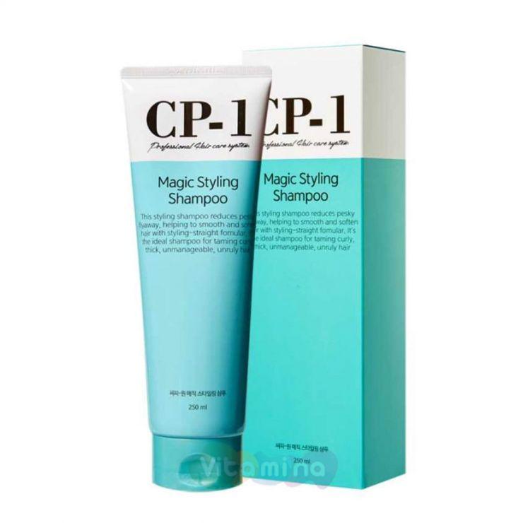 Esthetic House Шампунь для непослушных вьющихся волос CP-1 Magic Styling Shampoo, 250 мл
