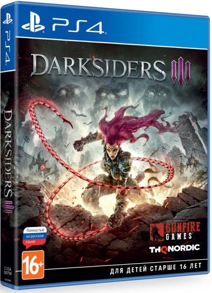 Игра Darksiders III (PS4)