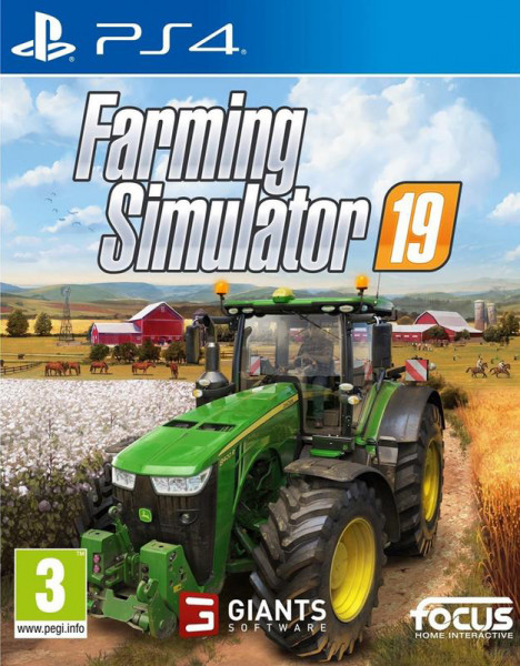 Игра Farming Simulator 2019 (PS4)