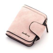 Женский замшевый кошелёк Baellerry Forever Mini, Светло-розовый