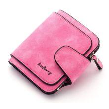 Женский замшевый кошелёк Baellerry Forever Mini, Розовый