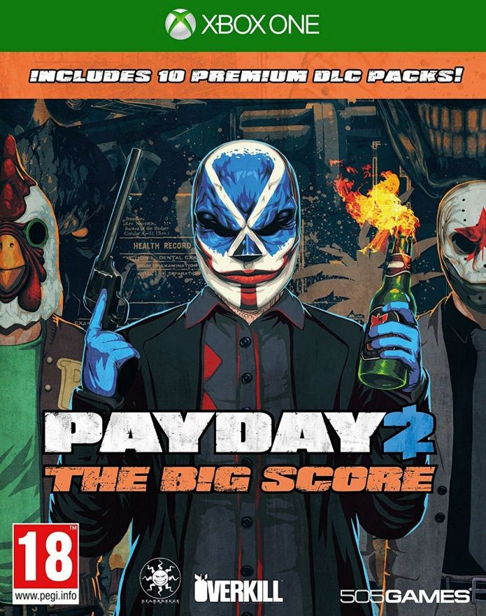 Игра Payday 2: the Big Score (XboxOne)