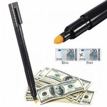 Маркер для проверки денег Banknote tester pen, Черный