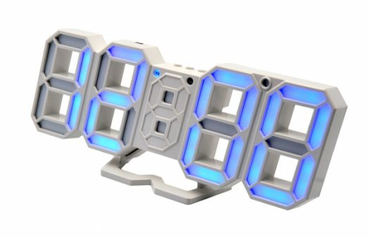 Часы эл. VST883-5 син.цифры (5В)