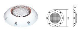 Прожектор LEDP-100 с LED - элементами накладной (8 Вт/12 В) плитка