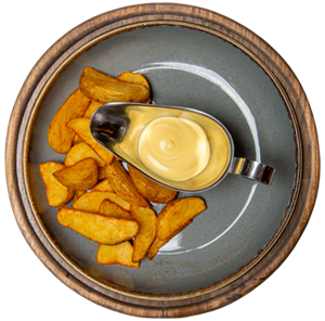Картофельные дольки 350г