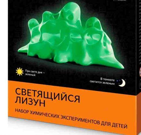 Светящийся лизун Зеленый