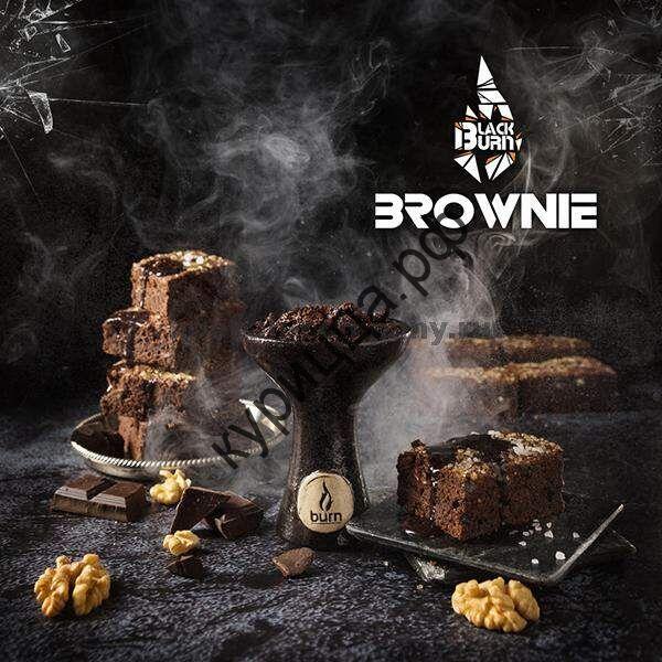"""Табак Burn BLACK 25 г """"Brownie"""" (""""Брауни"""")"""