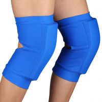 Наколенники для гимнастики и танцев INDIGO NORA SM-377 бифлекс синие