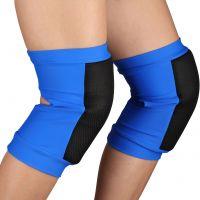 Наколенники для танцев и гимнастики INDIGO SANDRA SM-378 сетка синие
