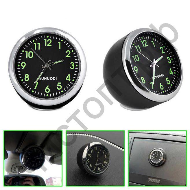 Часы  эл. авто OT-CLC03 (Черный) видно в темноте