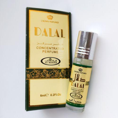 Арабские масляные духи Dalal | Далал | 6 мл | Al-Rehab | Унисекс