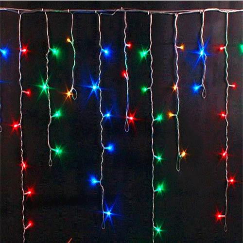 Гирлянда Бахрома, 400 LED, 7х0.7 м