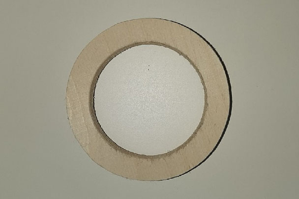 Кольцо проставочное на рупор 25 NEO и аналогичные с утоплением и без