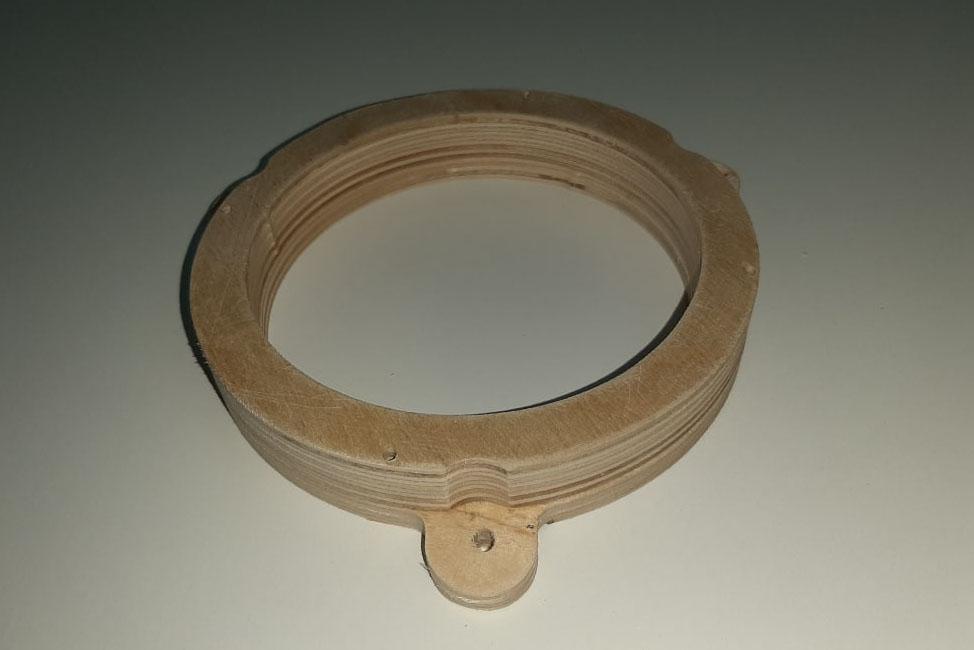 Кольцо проставочное Renault, Vesta 13 см двухсоставное без утопления