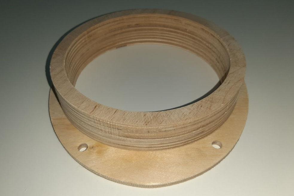 Кольцо проставочное Ford 16 см трехсоставное без утопления