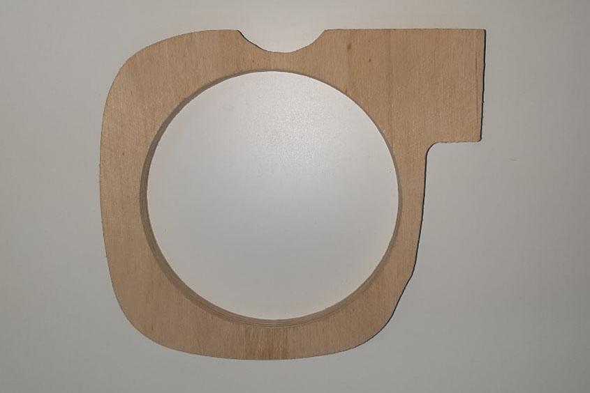 Кольцо проставочное Priora двухсоставное без утопления
