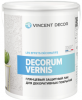 Лак Защитный Vincent Decor Decorum Vernis Gloss 1л Глянцевый для Декоративных Покрытий / Винсент Декор Декорум Вернис Глосс