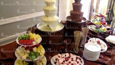 Шоколадный фонтан ФОНДЮ