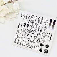 Слайдер дизайн SLIDER RF design nails (74мм х 71мм) -076- СЛАЙДЕР РФ