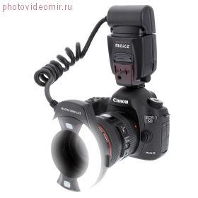 Кольцевая вспышка Meike MK-14EXT (E-TTL Canon)