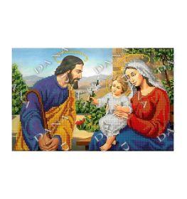 Dana DANA-2436. Святое Семейство схема для вышивки бисером купить оптом в магазине Золотая Игла