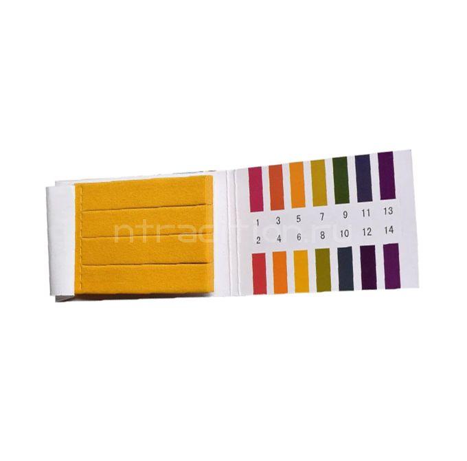 Полоски индикаторные для определения pH, 1,00 - 14,00