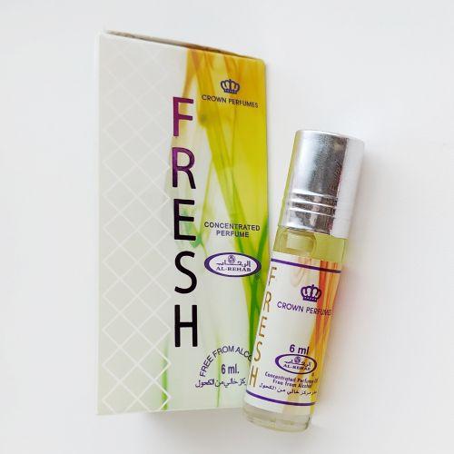 Арабские масляные духи Fresh | Свежий | 6 мл | Al-Rehab | Унисекс