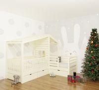 Кровать Домик угловой Fairy Land №5F (для двоих детей)