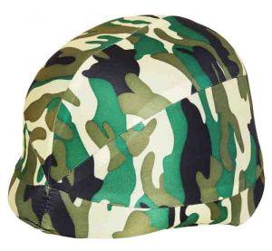 Шлем с камуфляжным покрытием