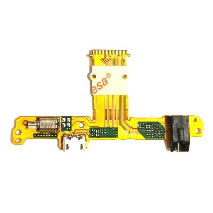 Нижняя плата с разъемом зарядки, виброзвонком и аудиоразъемом для Huawei Mediapad 10 Link+