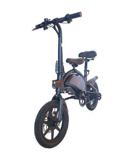 Электровелосипед Kugoo V1 7.5AH Jilong Чёрный