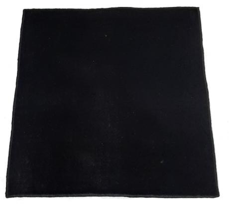 Скатерть для гадания, 50х50 см, чёрный бархат