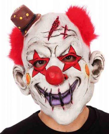 Маска Клоуна с шляпкой