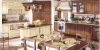 Кухня Сорренто комбинированная