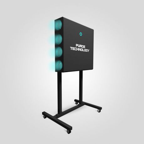 Рециркулятор Purge Technology Квадро (Черный)