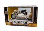 Мотоцикл с коляской. BMW. Sidecar (белый)