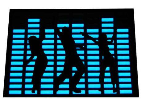 Эквалайзер музыкальный (20х14 см)